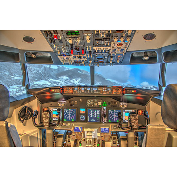 Boeing 737 Flugsimulator mit Video in Schweinfurt