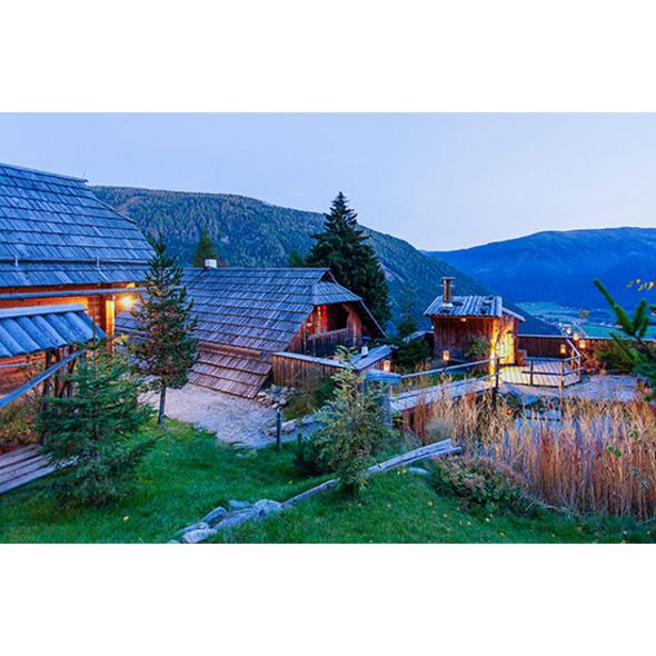 Romantische Nacht in der Luxus-Berghuette in Kaernten für 2