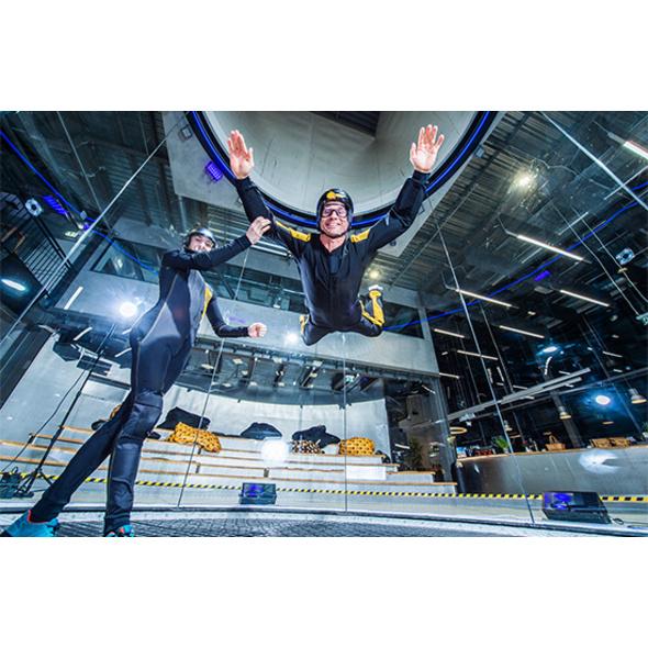 Bodyflying im Duett im Raum Berlin (6 Min.)