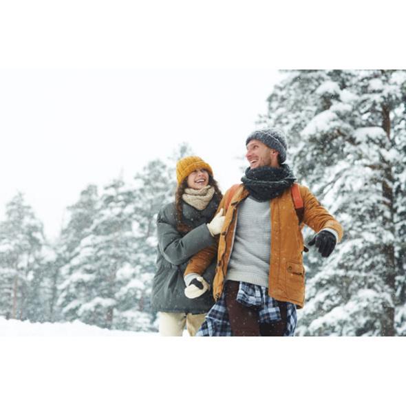 Winter-Romantikurlaub im Chalet in Kaernten für 2