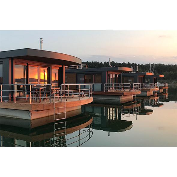 Winter-Kurzurlaub im Floating Village Brombachsee für 2