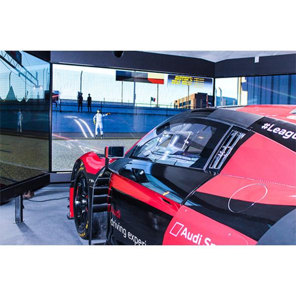 Simulator-Triathlon: Airbus A320, Audi R8 GT3 LMS und F1 in Berlin