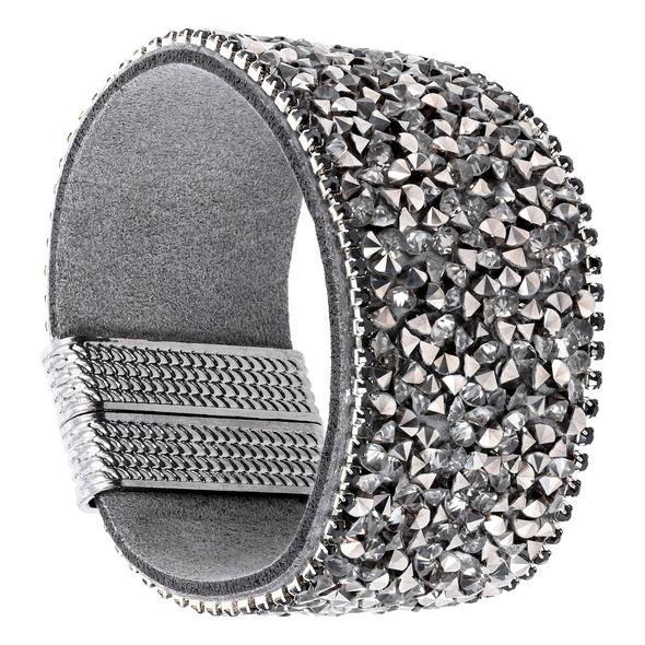 Armband - Glittering Grey