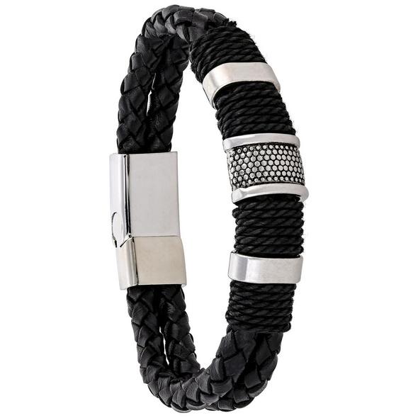Herren Armband - Black Beats