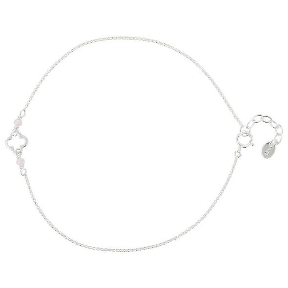 Fußkette - Silver Flower
