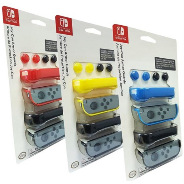 Nintendo Switch JoyCon Armor Guards 2 Stueck