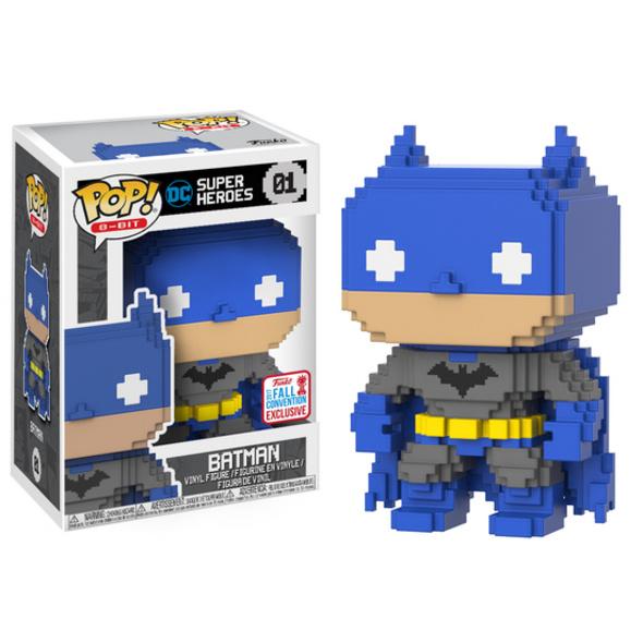 DC Comics - POP! Vinyl-Figur Batman 8-BIT (NYCC 2017 Limited Edition)