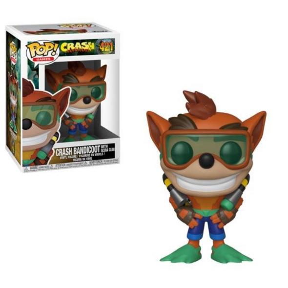 Crash Bandicoot - POP! Vinyl-Figur Crash Bandicoot Scuba Crash
