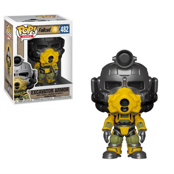 Fallout 76 - POP!-Vinyl Figur Excavator Armor