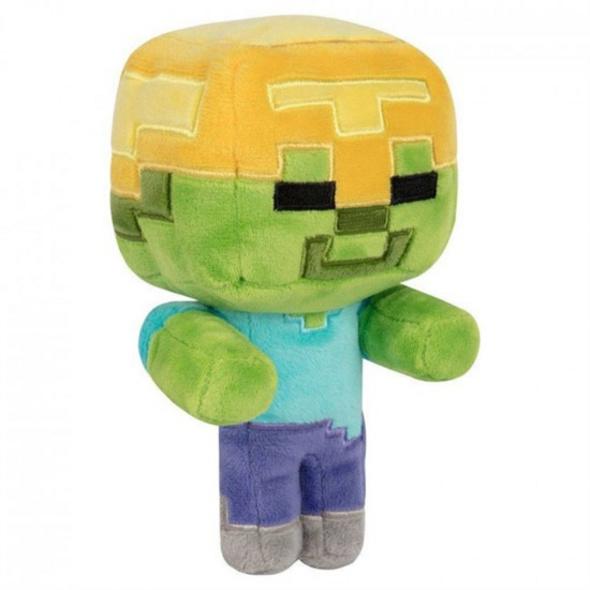 Minecraft - Plüschfigur Gold Helm Zombie