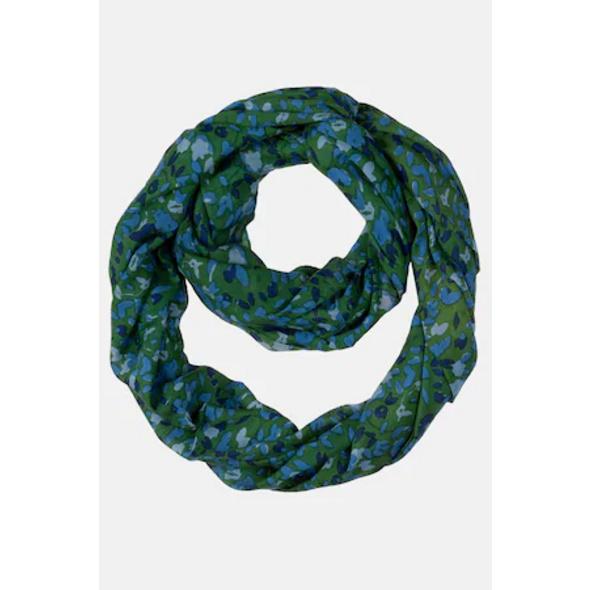 Ulla Popken Loop, kleines Muster, Trendfarbe - Große Größen