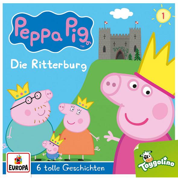 Peppa Pig 01. Die Ritterburg  und 5 weitere Geschi
