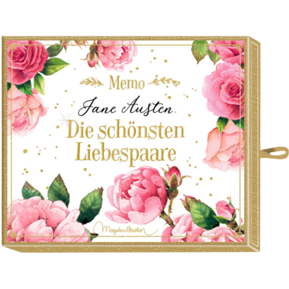 Schachtelspiel - Memo - Jane Austen - Die schönste