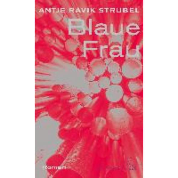 Blaue Frau