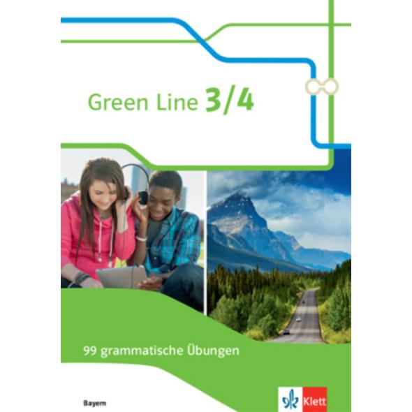 Green Line 3 4. 99 grammatische Übungen mit Lösung