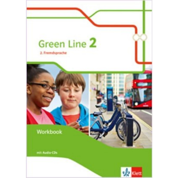 Green Line 2. 2. Fremdsprache. Workbook mit Audio-
