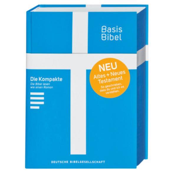 Basisbibel. Die Kompakte. Blau. Der moderne Bibel-