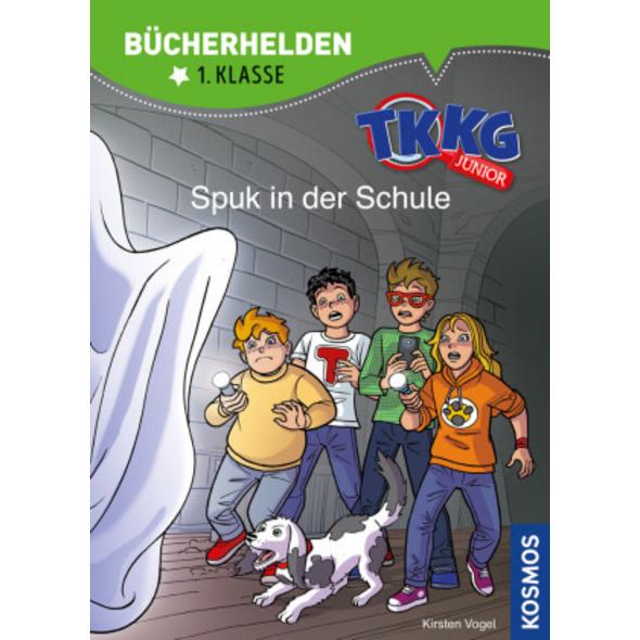 TKKG Junior, Bücherhelden 1. Klasse, Spuk in der S