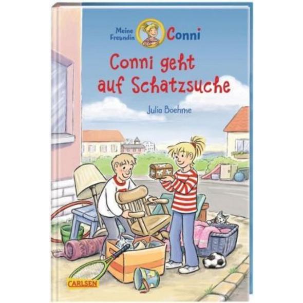 Conni-Erzählbände 36: Conni geht auf Schatzsuche