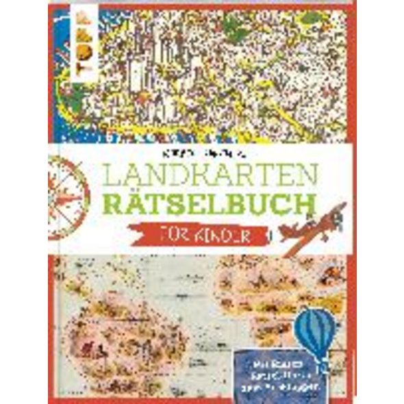 Landkartenrätselbuch für Kinder