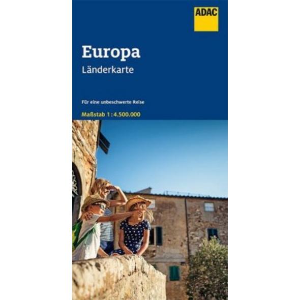 ADAC Länderkarte Europa 1:4 500 000