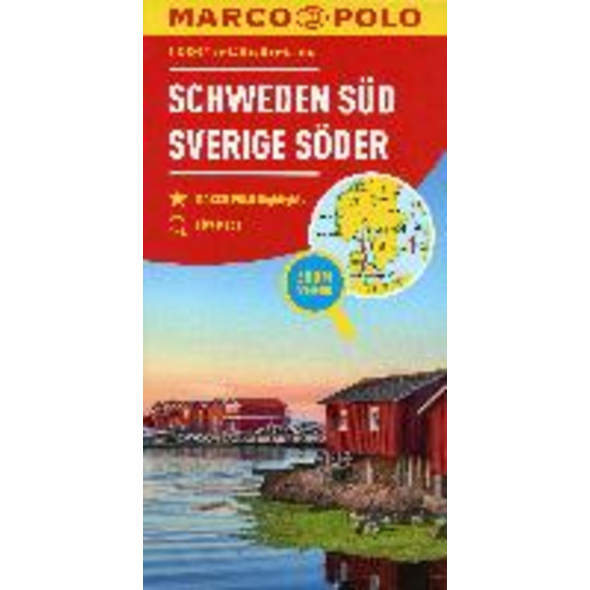 MARCO POLO Regiokarte S Schweden Süd 1:325 000