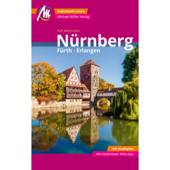 Nürnberg - Fürth, Erlangen MM-City Reiseführer Mic
