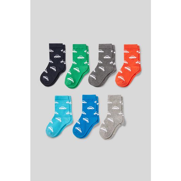 Auto - Socken - 7 Paar