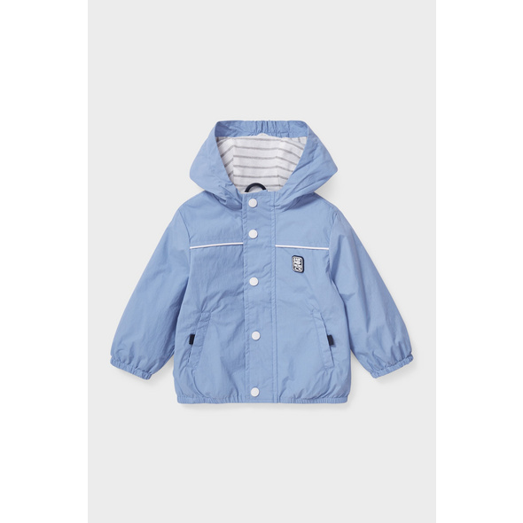Baby-Jacke mit Kapuze
