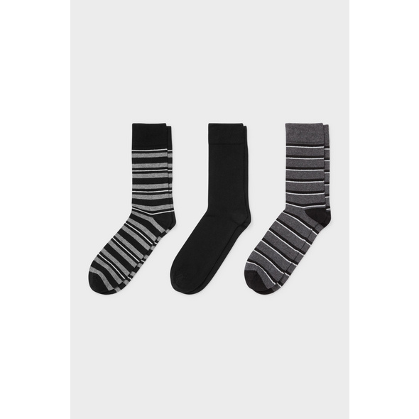 Multipack 3er - Socken - Bio-Baumwolle - Aloe Vera