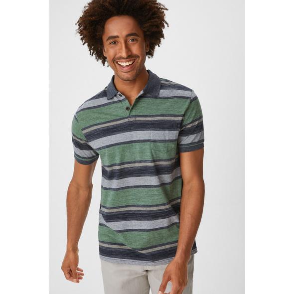 Poloshirt - gestreift
