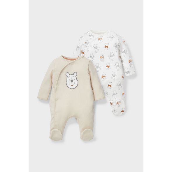 Multipack 2er - Winnie Puuh - Baby-Schlafanzug