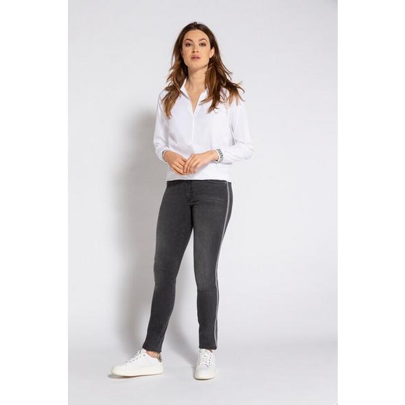 Gina Laura Jeans Julia Identity, 5-Pocket, Galon-Bänder