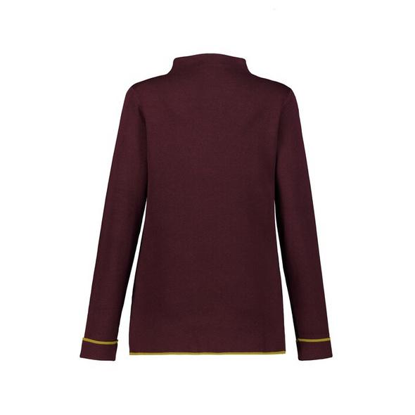 Pullover, Doubleface-Qualität, Stehkragen