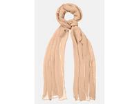 Schal, Plissee-Qualität, einfarbig