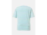 T-Shirt, Streifen, Rundhalsausschnitt, reine Baumwolle