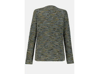 Jacke, multicolor, Hakenverschluss, Jacquard-Qualität