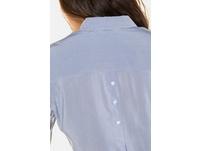 Hemdbluse, Streifenmix, Rücken-Zierknöpfe