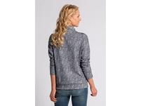 Sweatshirt, Jacquard-Qualität, Stehkragen