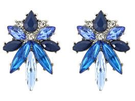 Ohrstecker - Blue Crystal