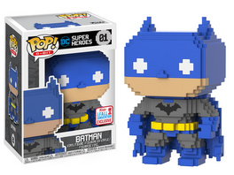 DC Comics - POP! Vinyl-Figur Batman 8-BIT (NYCC 2017 Limited Edition)