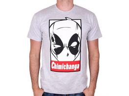 Marvel Deadpool - T-Shirt Chimichanga (Größe L)