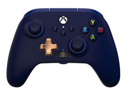 Xbox One PowerA Wired Controller Midnight Blue
