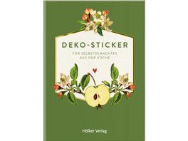 Deko-Sticker, Äpfel  Küchenpapeterie