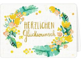 Grußkarten mit Kuvert - All about yellow