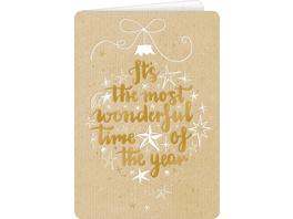 Weihnachtskarten mit Kuvert - Frohes Fest