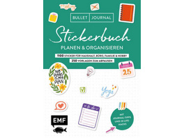 Bullet Journal - Stickerbuch - Planen und organisi