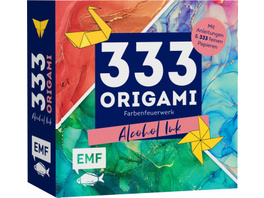 333 Origami - Farbenfeuerwerk: Alcohol Ink
