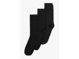 Socken - Bio-Baumwolle - 3 Paar - Aloe Vera
