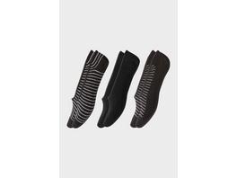 Multipack 3er - Füßlinge - Bio-Baumwolle - Aloe Vera